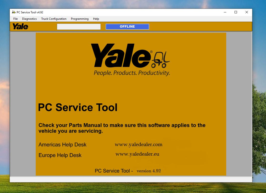Hyster & Yale PC Service Tool v4.92
